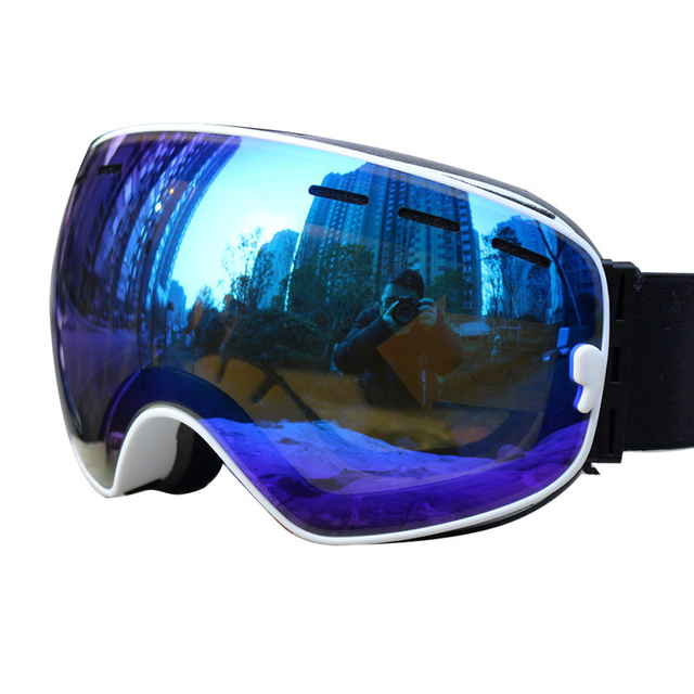 POC 2019 ski goggles double layers 10color UV protection anti-fog big ski mask glasses skiing men women snow snowboard goggles 1