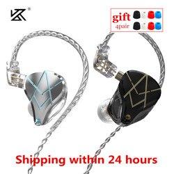 KZ ASX 20BA Earphones 20 Balanced Armature Noise Cancelling Sport Headset Music Gaming Earbuds KZ ASF ZSX C10 PRO AS16 AS12 CA16