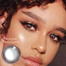 Цветные контактные линзы jewelens ed цветные для глаз цветная