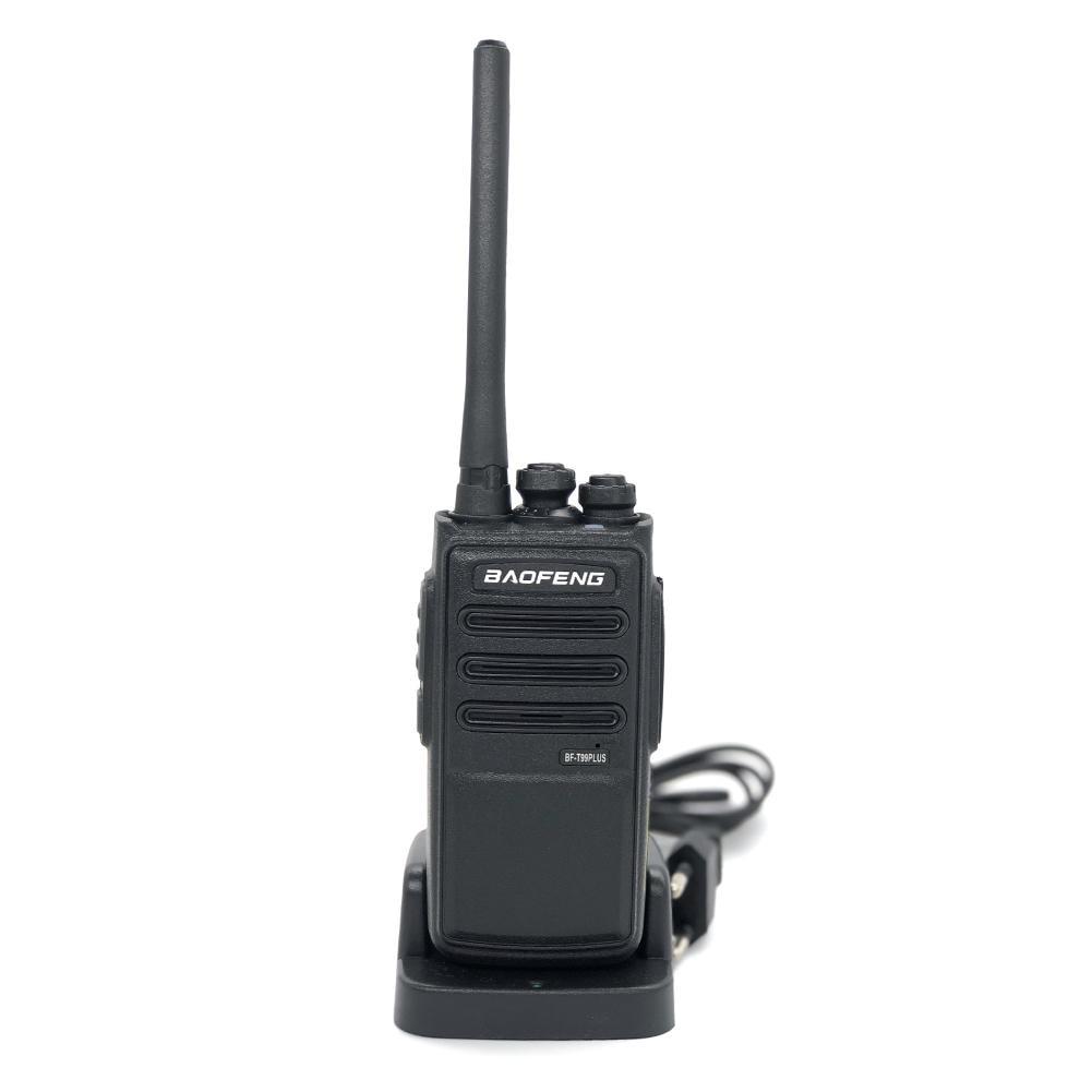 Baofeng-T99PLUS Walkie Talkie Long Range Two Way Radio 400-470MHz VHF UHF Dual Band Handheld Radio Transceiver Interphone
