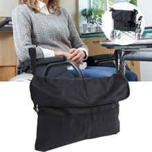 Черная портативная прочная сумка для хранения инвалидных колясок