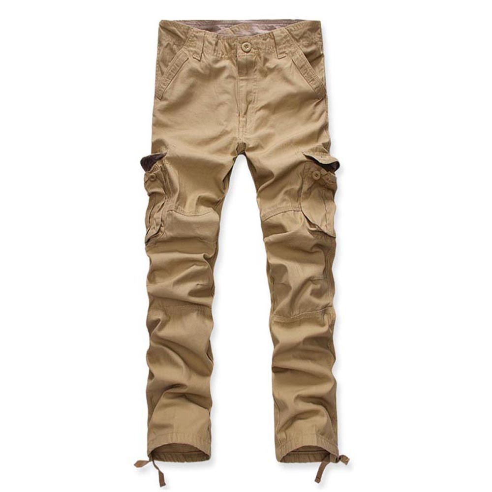 Hot Selling Multi-pockets Pure Cotton Bib Overall Large Size Pants Outdoor Ouma Men's Trousers
