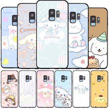 Fofos para celular preto caso de telefone macio para samsung s20 s10 s9 s8 s7 borda mais lite nota 8 9 10 a6 a7 a8 a9 2018 capa