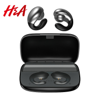H&A Bone Conduction TWS Bluetooth Earphones with 2200mAh Charging Case IPX5 Waterproof Sports Music Wireless Headphones Headsets