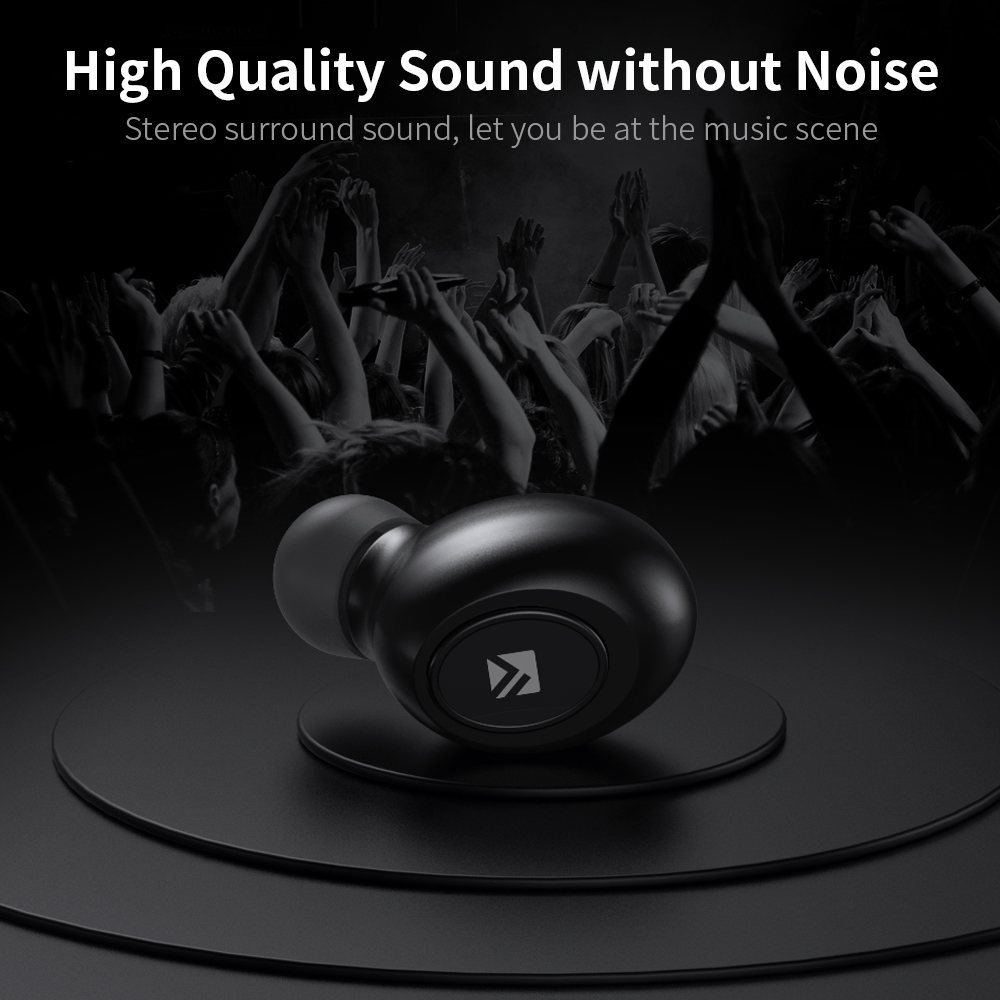 éDiscountFLOVEME Bluetooth Earphone Earbuds Wireless Headset for Stereo-Sound╙