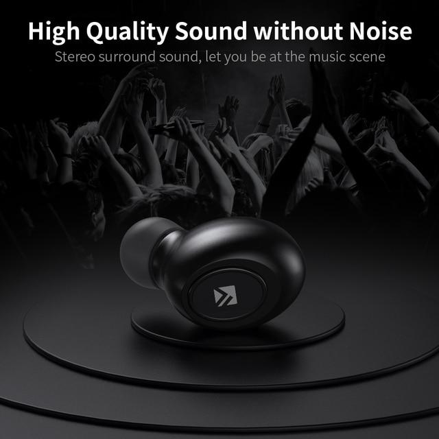 FLOVEME TWS 5.0 Wireless Headset Bluetooth Earphone Headphones For Smart Phone Earphones Stereo Sound Earbuds Dual Microphone 3