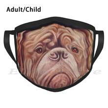 Dogue De Bordeaux drôle impression réutilisable chaud foulard masque Steampunk vapeur Punk chien Dogue De Bordeaux