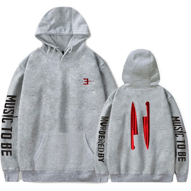 MUSIC TO BE MURDERƎD BY EMINEM THEMED HOODIE