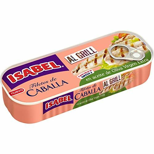 Filetes De Caballa Isabel En Aceite De Oliva Virgen Extra Al Grill 120g