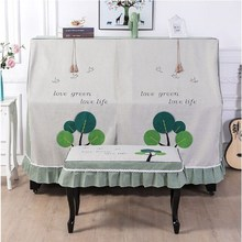 Piano-Dust-Cover Lace Fabric Childlike Printed Universal-Style