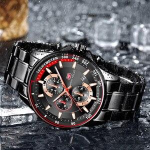 Image 2 - Orologio da polso al quarzo da uomo orologio da pilota di lusso di marca superiore cronografo militare calendario data resistente allacqua MINI FOCUS multifunzione