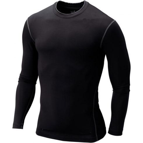 Pro Training Running Sports Set Men's Running Suit Men's Fitness Suit MEN'S Suit Quick-Dry Long-sleeve Suit