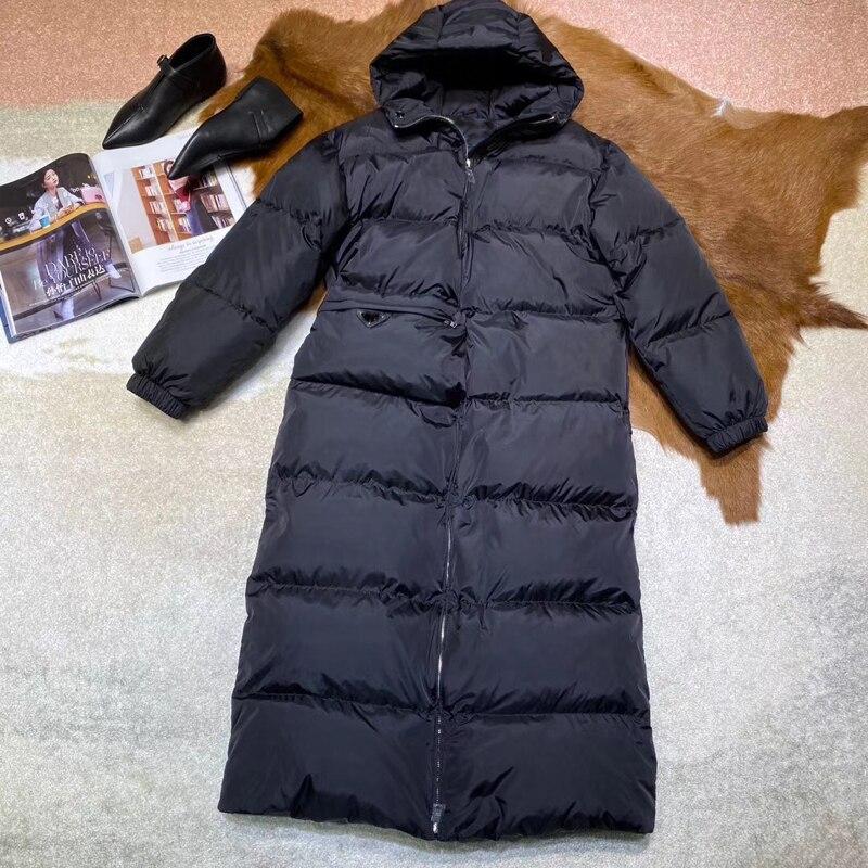 Высокое качество Элегантное длинное пальто для женщин модное корейское пальто 2019 модное женское пальто