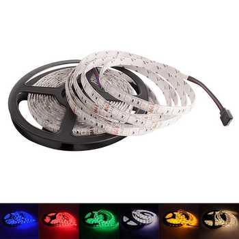 LED Strip 5050 2835 DC 12V Waterproof Flexible RGBW RGB Led Light Strip Warm White 60 LEDs/m 5M Bande Tira Ribbon LED Diode Tape - DISCOUNT ITEM  36% OFF All Category