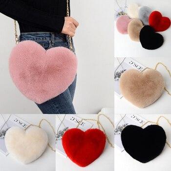 Ladies Heart-Shaped Crossbody Bags