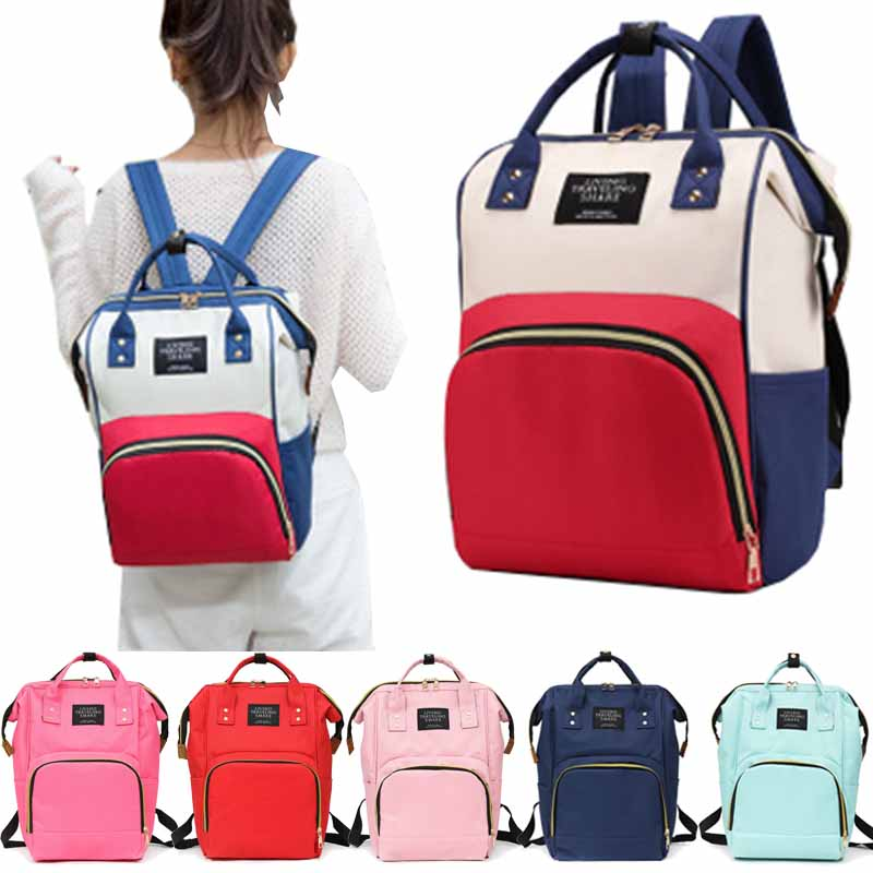 Large Capacity Mummy Maternity Nappy Diaper Bag Infant Baby Travel Backpack Bottles Storage Nursing Bags For Stroller Baby Care