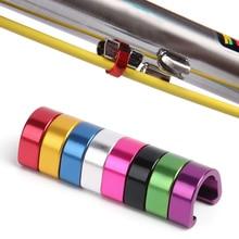 Bicycle-C-Clips Case Bike-Brake MTB Cable/derailleur-Line Aluminum-Alloy Outdoor C-Shape-Buckle