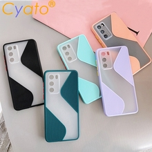 CYATO Candy Color Splice Shcokproof Phone Case For