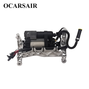 Image 2 - For VW Touareg NF II 2010 with bracket&New Cayenne II 92A Air Suspension Compressor Oem#7P0698007A 7P0698007B 7P0616006E