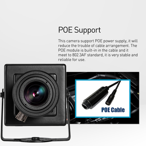 Image 3 - POE HD 1080P 6 22mm עדשת זום ידנית מיני סוג 2.0MP מקורה IP מצלמה אבטחת ONVIF p2P CCTV מצלמת מערכת