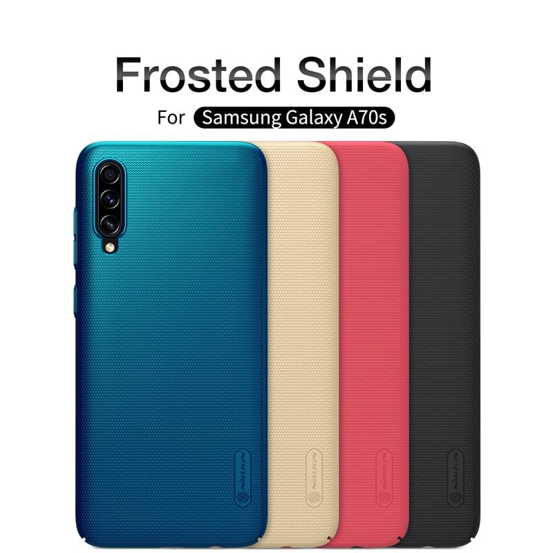 Étui pour samsung Galaxy A70s/A50s/A30s/A10s/A20/A20E/A6 2018 couverture NILLKIN Super givré bouclier housse arrière rigide sacs de téléphone