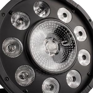 Image 5 - 4 قطعة/الوحدة LED الدهون الاسمية 9X10W + 1X30W RGB ضوء RGB 3IN1 LED المرحلة الإضاءة DJ ضوء DMX Led الاسمية أضواء الحفلات