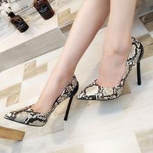 Women Pumps Fashion Women Shoes Party Wedding Super Square High Heel Pointed Toe  Ladies Pumps Size 35-42 ladies shoes