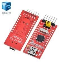 GREATZT – adaptateur de série FT232BL FTDI USB 3.3V 5.5V vers TTL, Module Mini Port USB vers TTL, amélioration