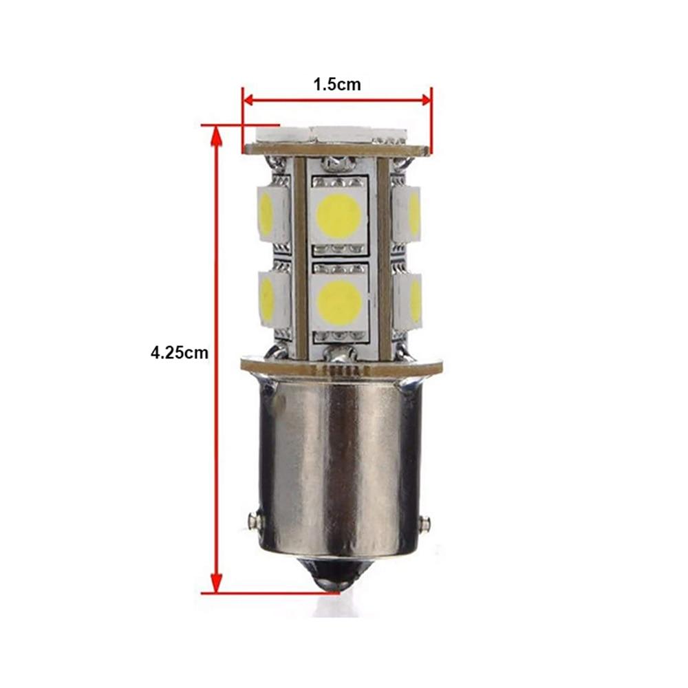 20PCS White 1156 BA15S LED RV Camper Trailer 1141 Interior Light Bulbs 13SMD