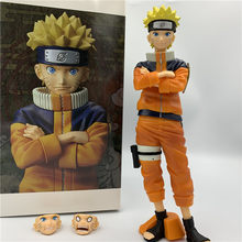 Nieuwe Naruto Uzumaki Naruto Gezicht Veranderende Grote Staande Ver. Pvc Action Figure Naruto Shippuden Collectible Model 24Cm