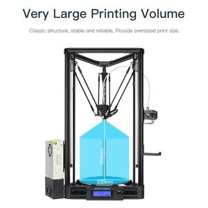 Image 4 - Anycubic 3D drukarki Kossel drukuj Plus rozmiar gadżet Auto moduł poziomu platformy 3d drukarki zestawy DIY drukarka 3d