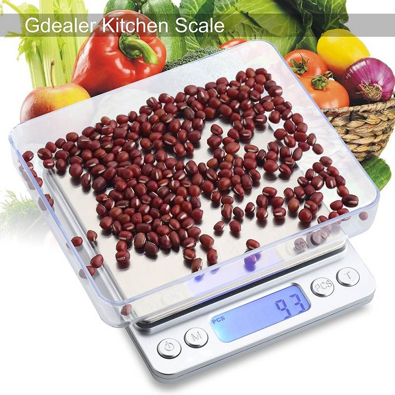 2000g 0.1g Mini Multi-unit Conversion Digital Electronic Kitchen Scale Pockets Jewelry Scales With Weight Pcs Counting Function