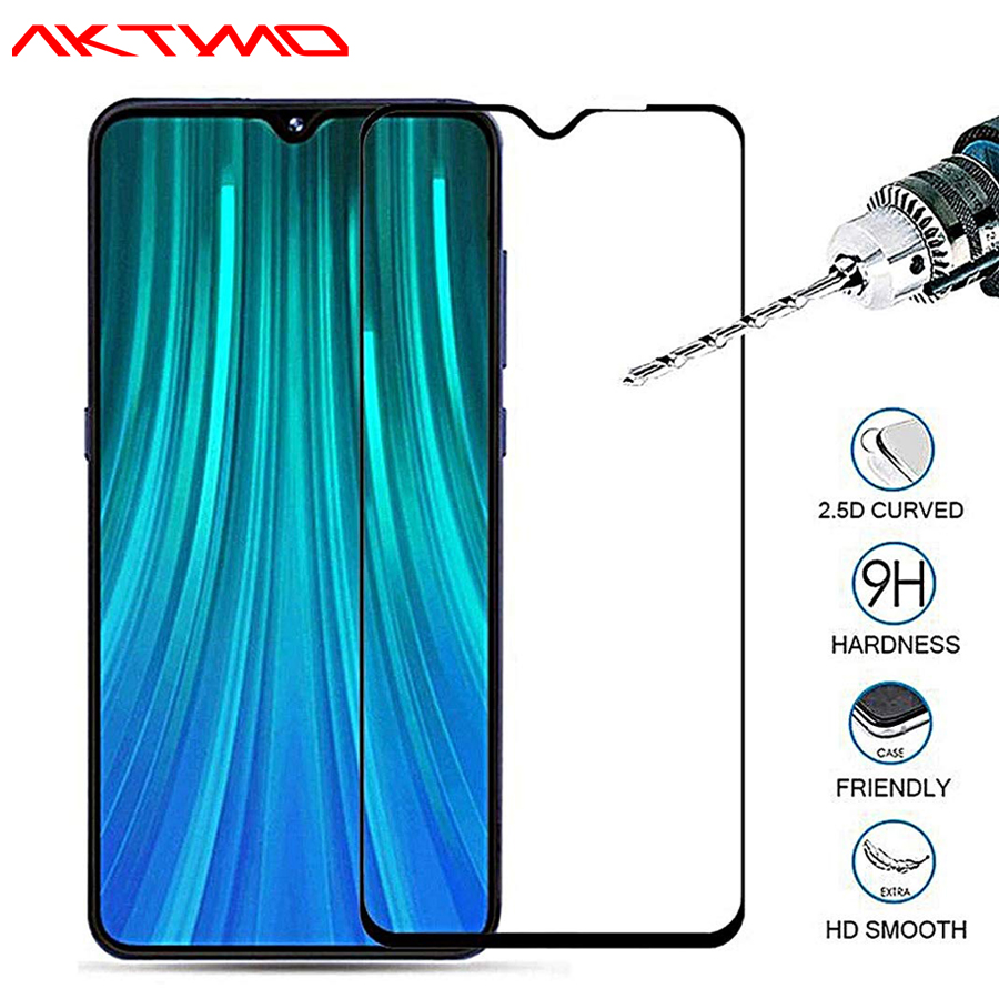 9H 20D Full Coverage Clear Tempered Glass Film For Xiaomi Redmi Note 6 7 8 Pro 8T 8A 7A 6A Screen Protector Scratch-Resistant