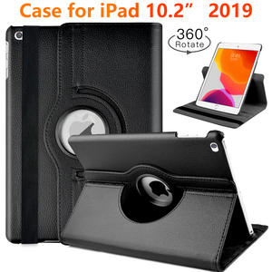 case For apple iPad 10.2 2019 Case For iPad 7th 2019 A2197 A2198 A2200 tablet Case 360 degree rotating magnetic smart capa
