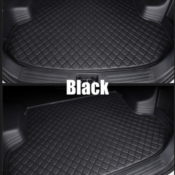 Leather Waterproof Car Trunk Mat Car Styling Trunk Cargo Liners Car Trunk Rugs фото