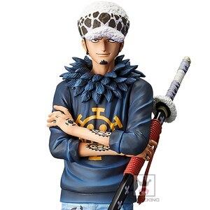 Image 5 - Tronzo Grande Originale Banpresto One Piece Grandista IL GRANDLINE MEN Roronoa Zoro Trafalgar Law Action PVC Figure Giocattoli di Modello