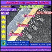 Aoweziic 100% nouveau importé original 2SK170 BL 2SJ74 BL 2SK170 BL 2SJ74 2SK170 TO 92 Audio assorti Transistor Triode de puissance
