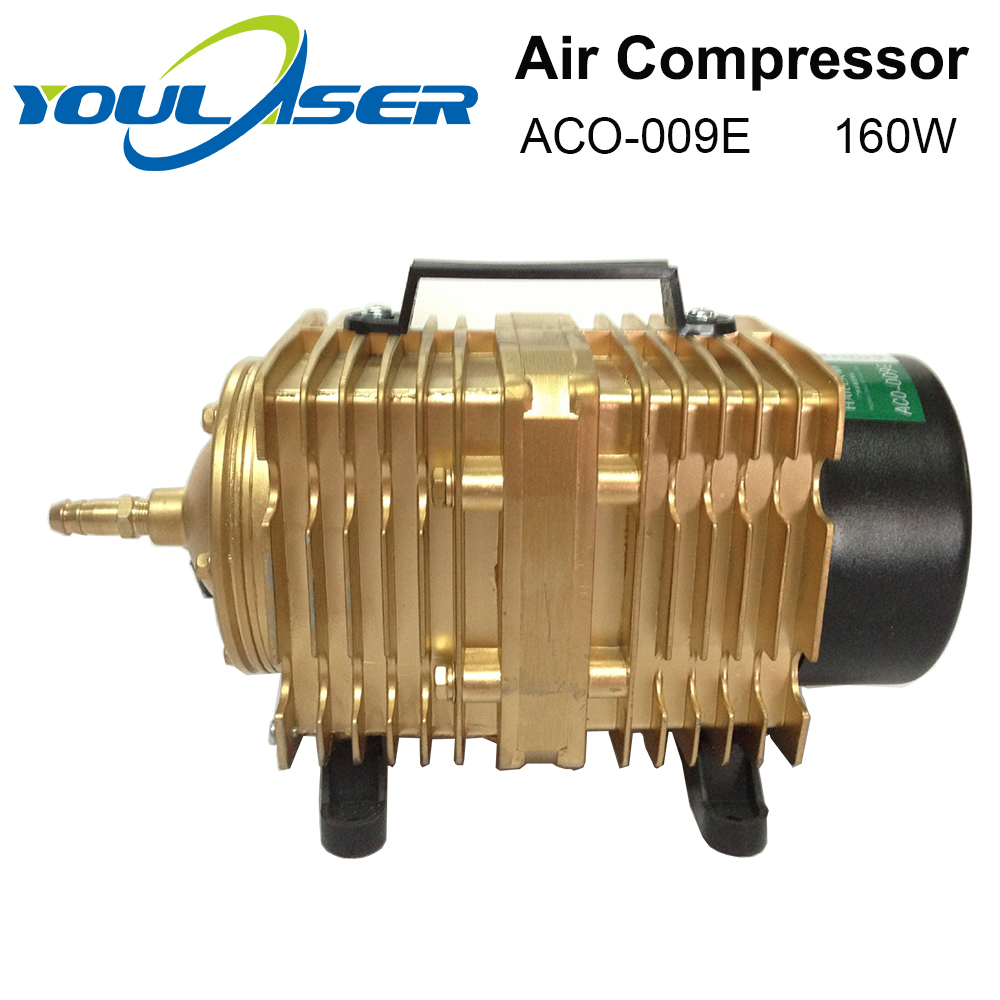 YOULASER 160W Air Compressor Electrical Magnetic Air Pump for CO2 Laser Engraving Cutting Machine <font><b>ACO</b></font>-<font><b>009E</b></font> image