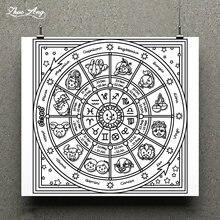 Zhuoang симпатичный дизайн проигрывателя штамп/Скрапбукинг резиновый