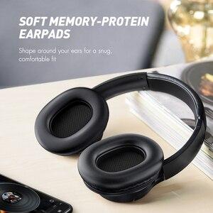 Image 4 - Mpow casque découte Bluetooth haute taille, avec micro et sac de transport pour iPhone/iPad en H7, réduction du bruit stéréo,
