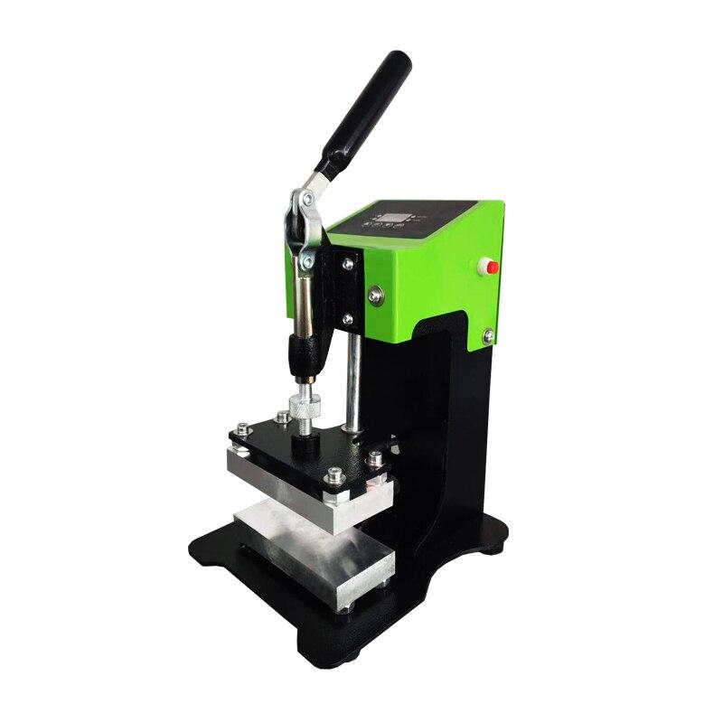 6*12cm Size 2.4*4.7inch Manual Rosin Press Good Pressure Home User Mini Portable Dual Heating Plates Oil Extractor AP1903