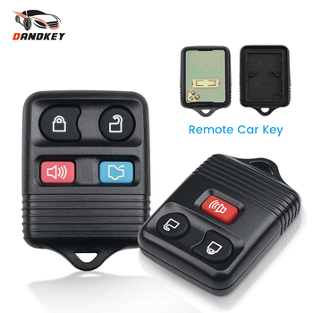 Dandkey Fob 3/4 Buttons 315MHZ Remote Control Key Shell For Ford Focus Escape Explorer Taurus 1998-2010 Car Key Transmitter image