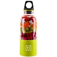 500ml 휴대용 Juicer 컵 USB 충전식 전기 자동 빙고 야채 과일 주스 도구 메이커 컵 블렌더 믹서 병