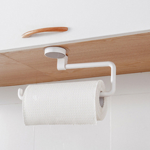 Buy Creative Tissue Paper Holder Long Roll Paper Suction Cup Rack Wall Mounted Towel Holder Storage Shelf Rack  Kitchen  Bathroom directly from merchant!