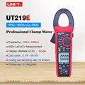 UT219E промышленные клещи; True RMS цифровой мультиметр AC DC Вольт постоянного тока ом метр; частотная характеристика/LoZ ACV/диод тест