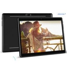 10,1 дюймов планшетный ПК 2.5D стальной экран Android 7,0 Google 3g вызов Восьмиядерный 4 Гб ram 64 Гб rom Wi-Fi Bluetooth ips+ комплект еды
