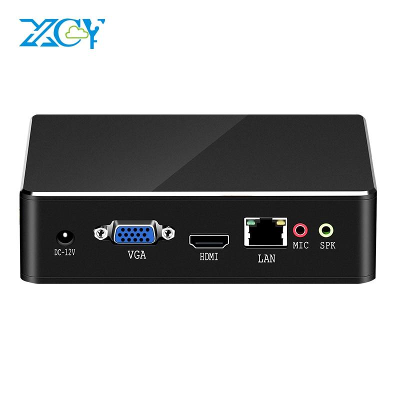 XCY X35 Mini PC Intel Core I7 6567U I5 6367U I3 6157U CPU Windows 10 300Mbps WiFi Gigabit Ethernet HDMI VGA 6*USB Gaming PC HTPC