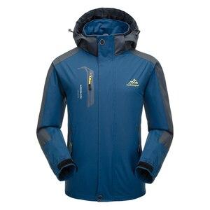 Image 2 - Lixada屋外ウインドブレーカークライミング防水ジャケット防風レインコートスポーツウェアサイクリングスポーツ取り外し可能なフード付きのコート