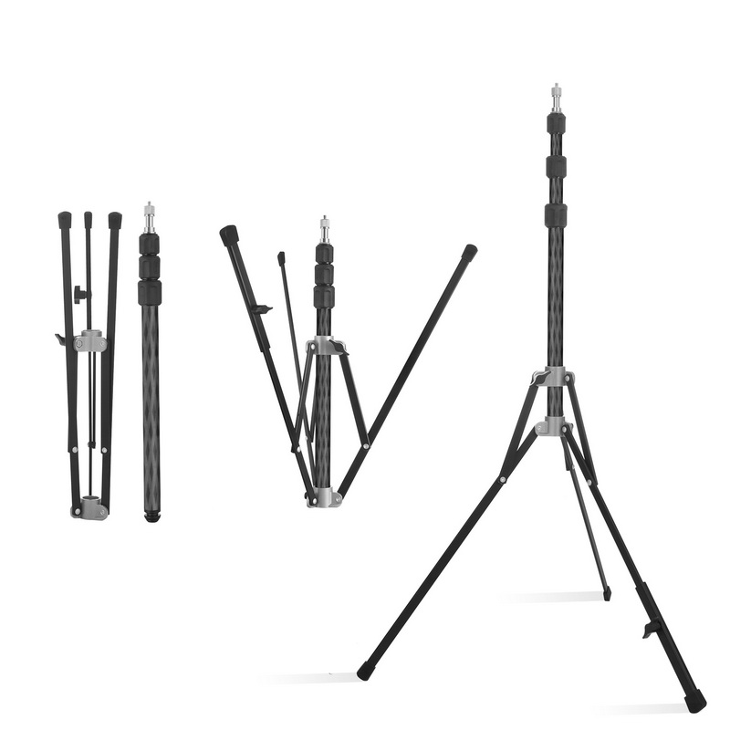Selens Professional Portable Light Stand Monopod For SLR Cameras Tripod For Softbox LED Light Photographic Lighting Flash Stand