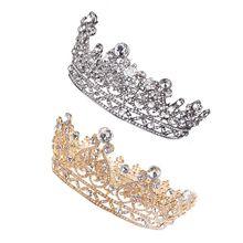 Tiara Crown Crystal For Women Bridal Wedding Birthday Prom